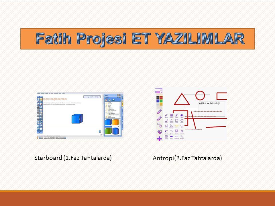 Fatih Projesi ET YAZILIMLAR
