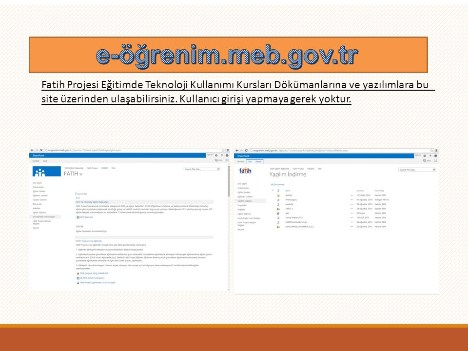 e-öğrenim.meb.gov.tr E-ÖĞRENİM eogrenim.meb.gov.tr