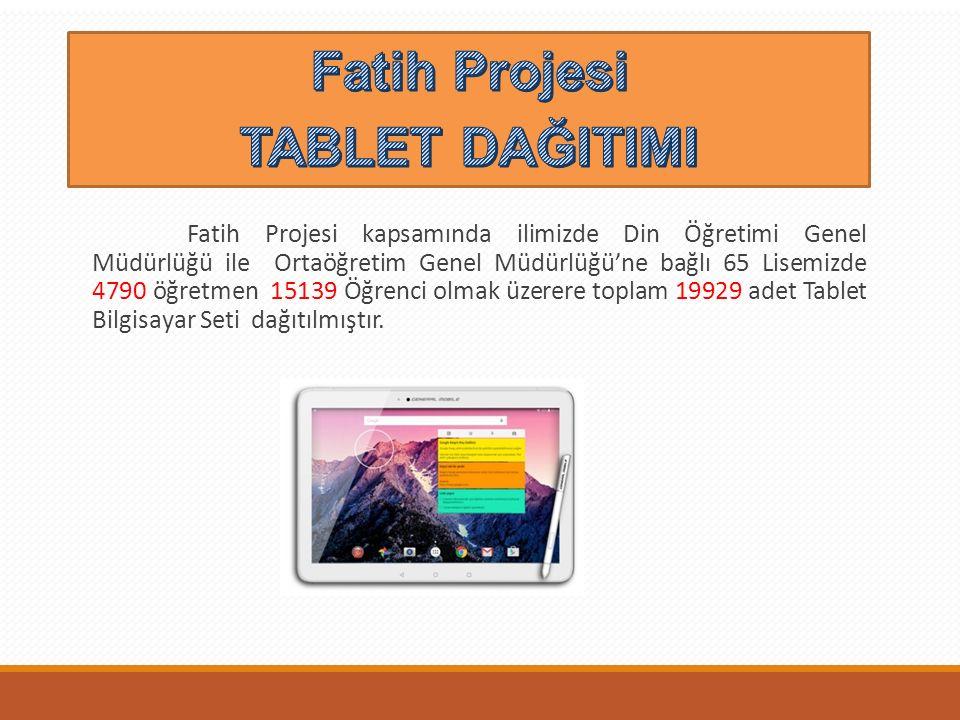 Fatih Projesi TABLET DAĞITIMI