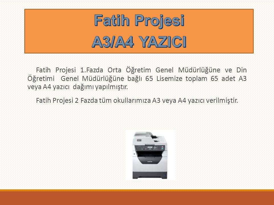 Fatih Projesi A3/A4 YAZICI