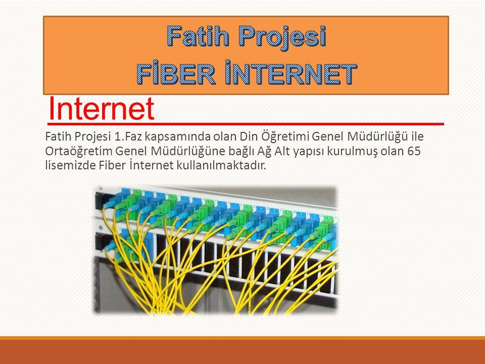 Fatih Projesi >>Fiber İnternet