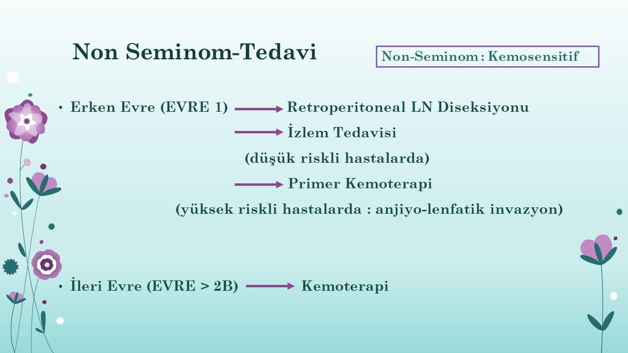Non Seminom-Tedavi Erken Evre (EVRE 1) Retroperitoneal LN Diseksiyonu