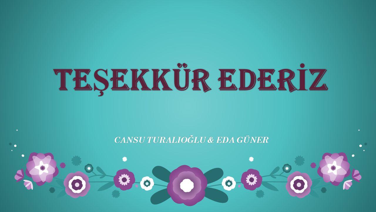 CANSU TURALIOĞLU & EDA GÜNER