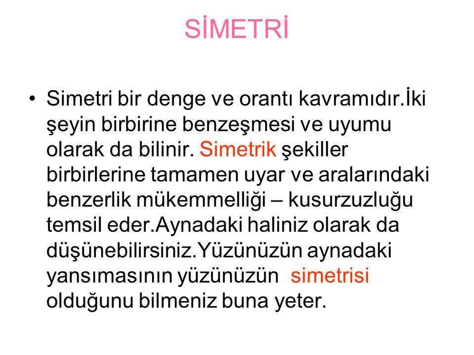 SİMETRİ