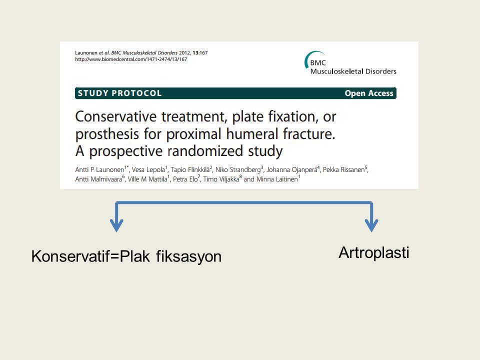 Artroplasti Konservatif=Plak fiksasyon
