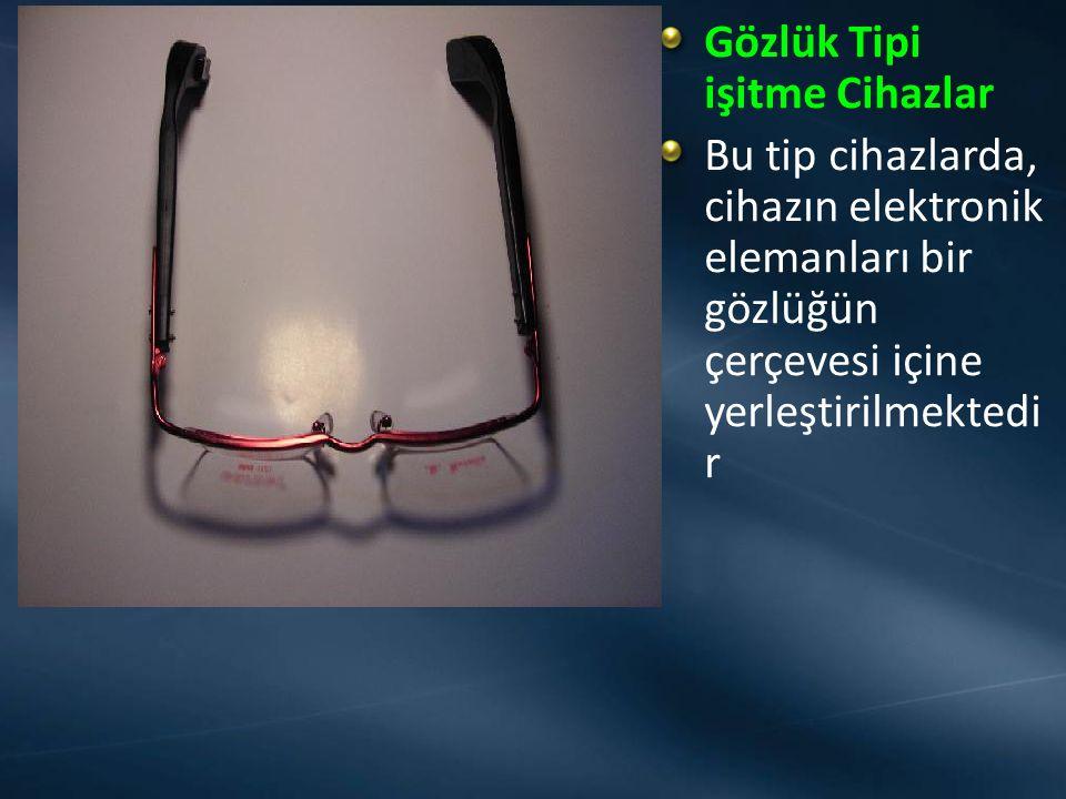 Gözlük Tipi işitme Cihazlar