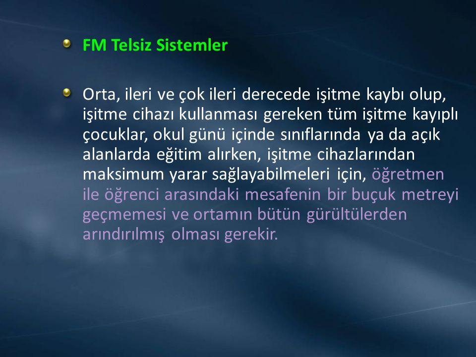 FM Telsiz Sistemler