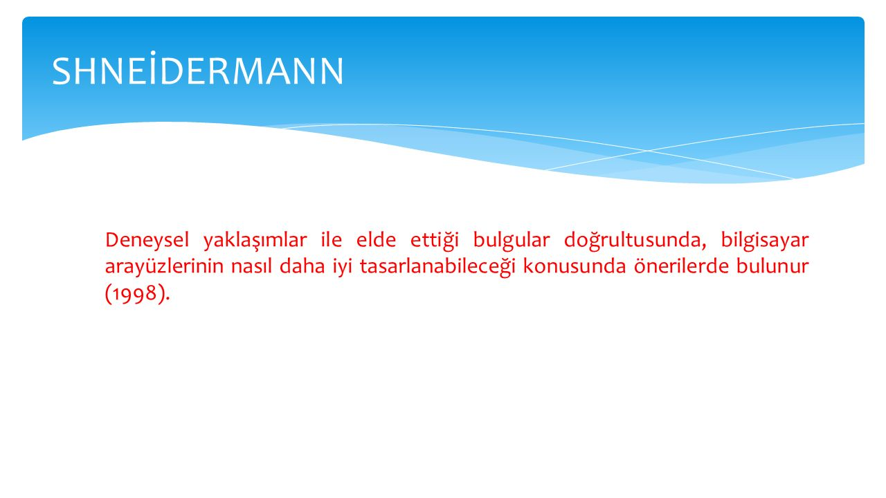 SHNEİDERMANN