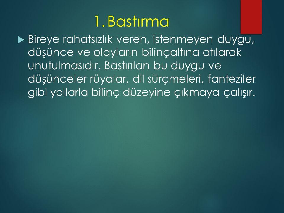 1. Bastırma