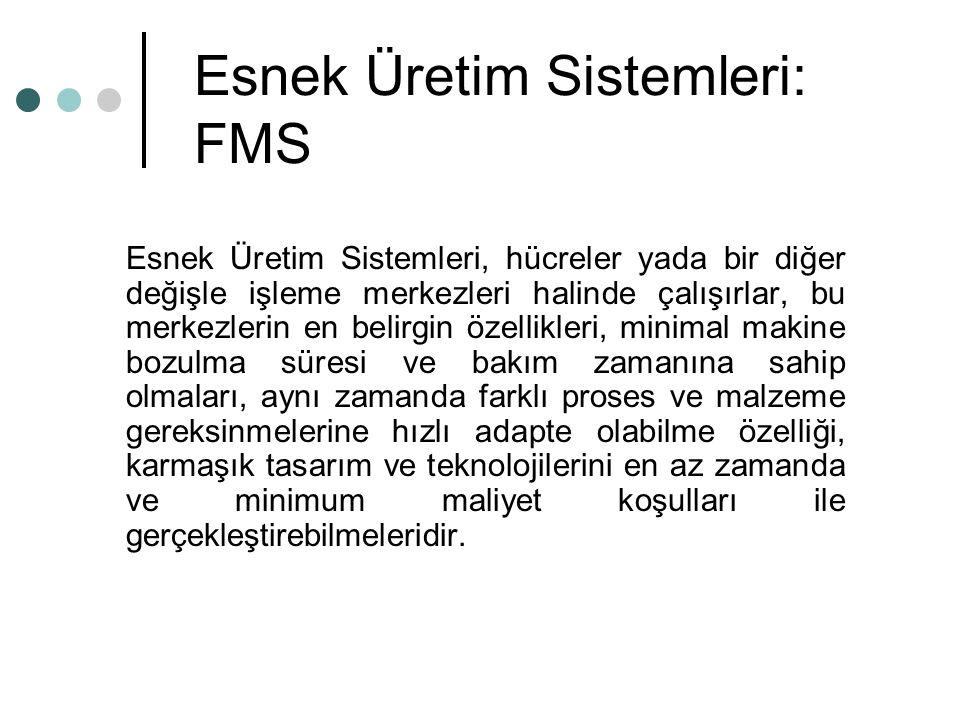 Esnek Üretim Sistemleri: FMS