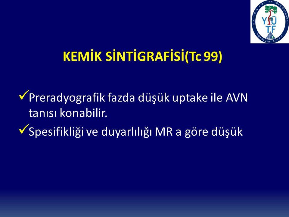 KEMİK SİNTİGRAFİSİ(Tc 99)