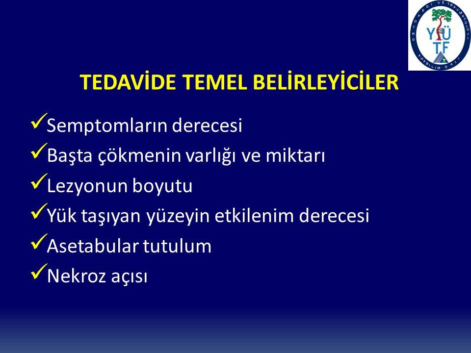 TEDAVİDE TEMEL BELİRLEYİCİLER