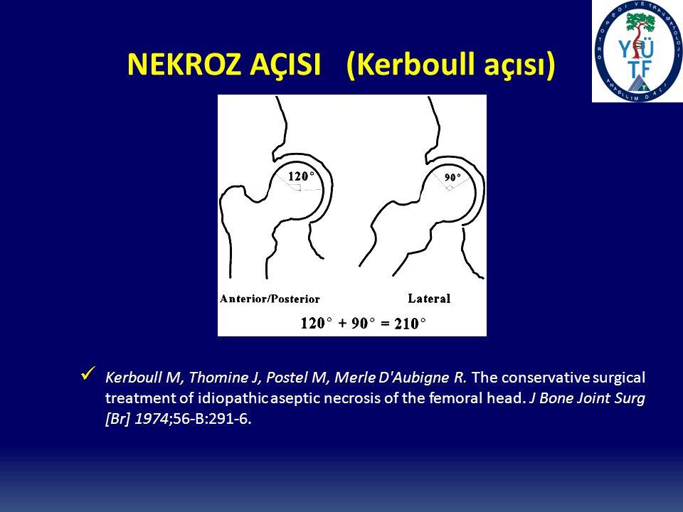 NEKROZ AÇISI (Kerboull açısı)