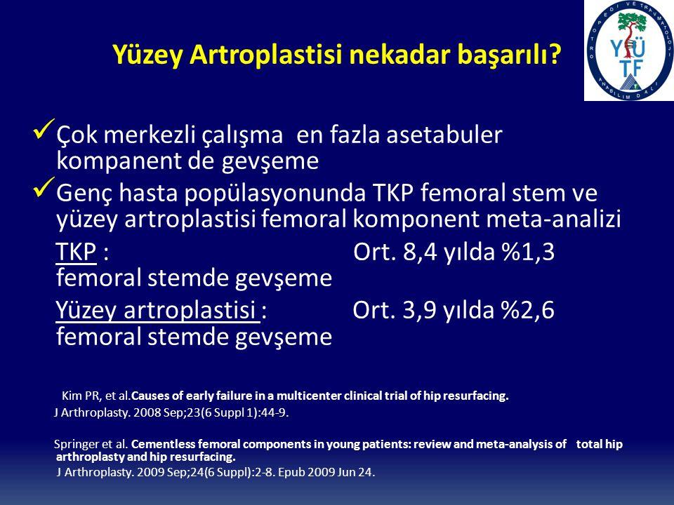 Yüzey Artroplastisi nekadar başarılı