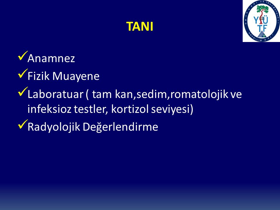 TANI Anamnez Fizik Muayene