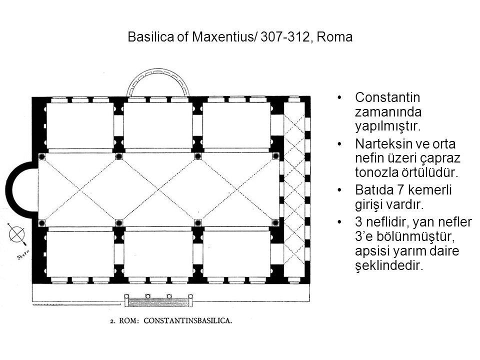 Basilica of Maxentius/ 307-312, Roma