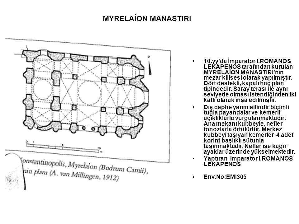 MYRELAİON MANASTIRI