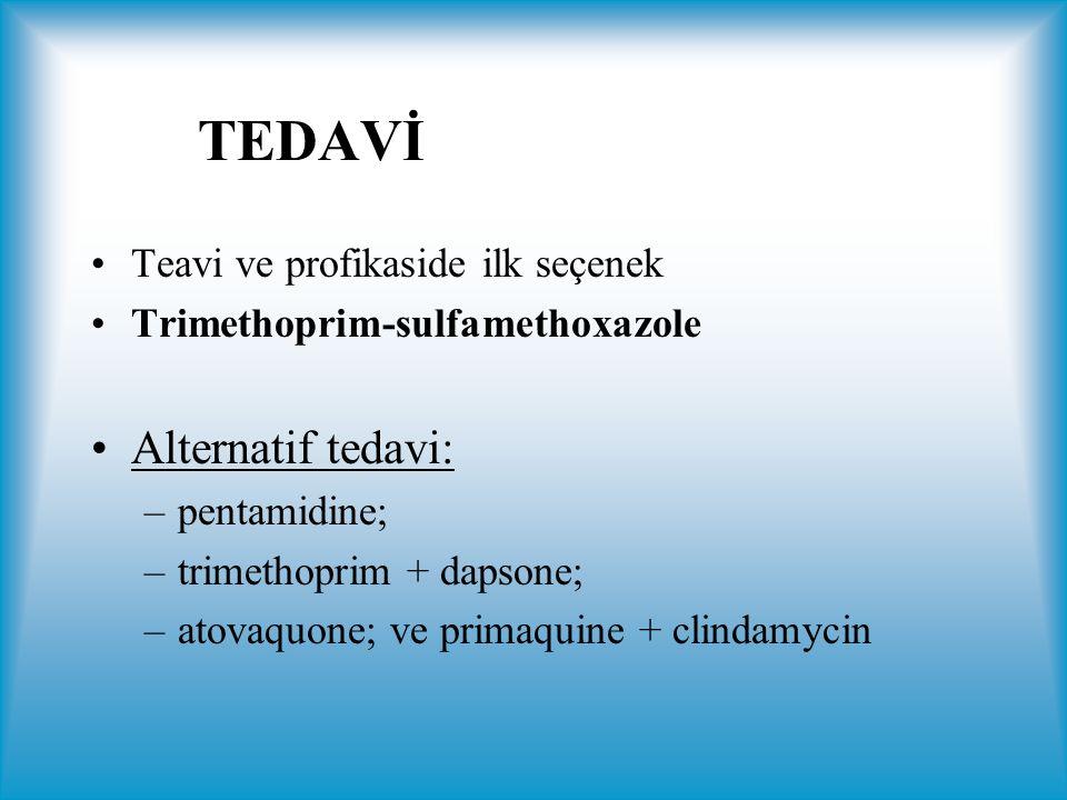 TEDAVİ Alternatif tedavi: Teavi ve profikaside ilk seçenek