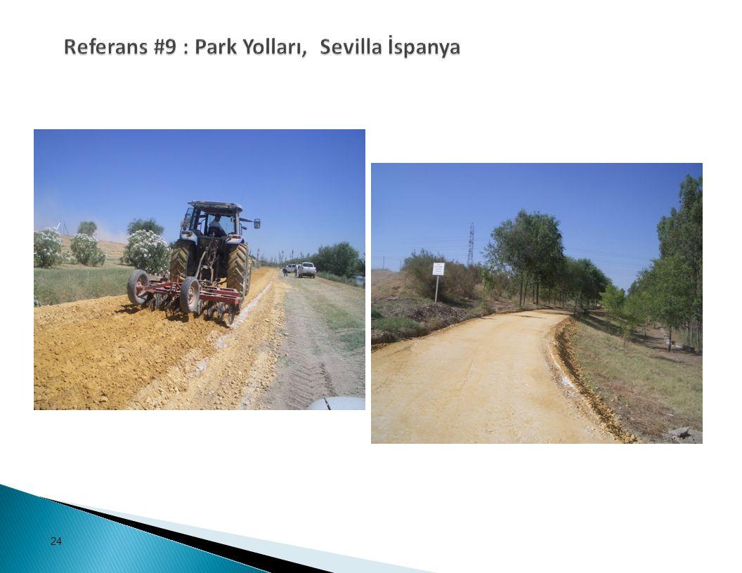 Referans #9 : Park Yolları, Sevilla İspanya