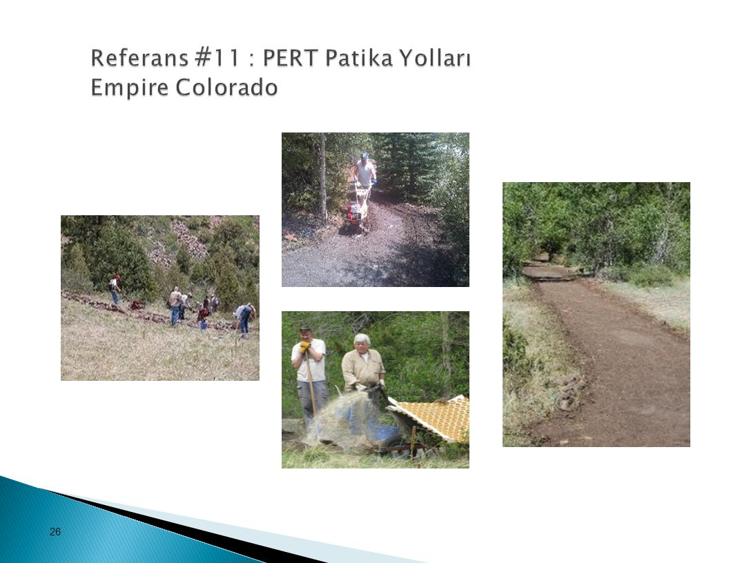 Referans #11 : PERT Patika Yolları Empire Colorado