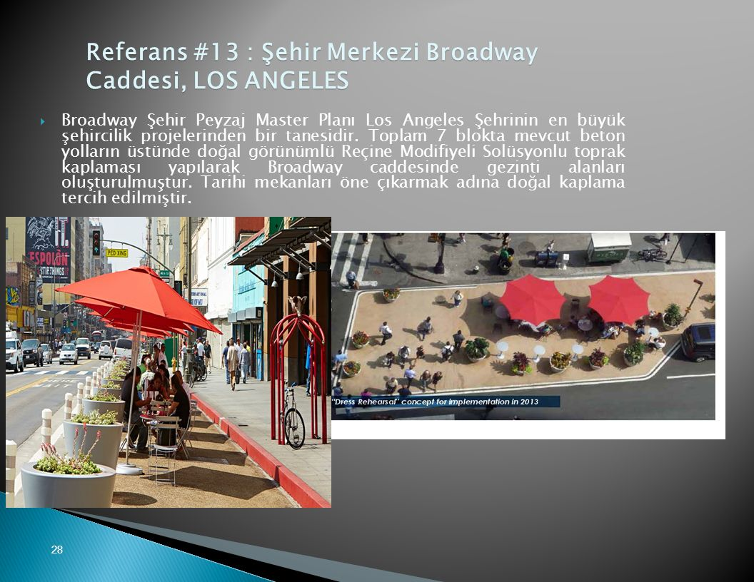 Referans #13 : Şehir Merkezi Broadway Caddesi, LOS ANGELES