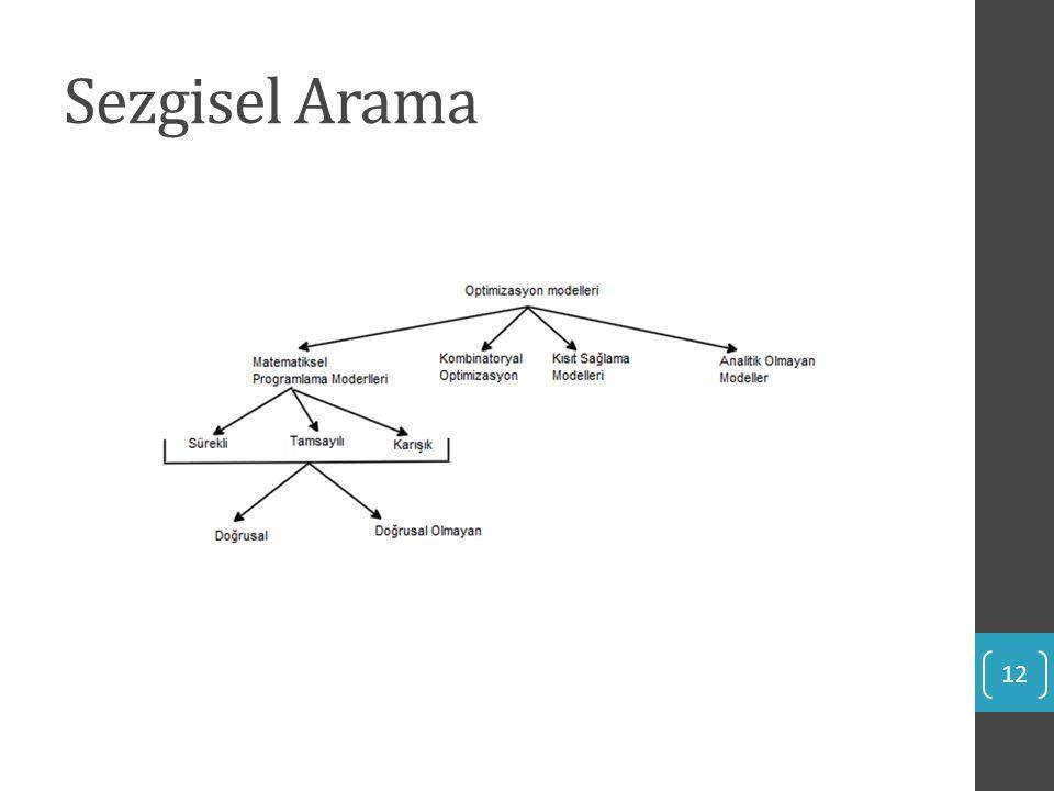 Sezgisel Arama