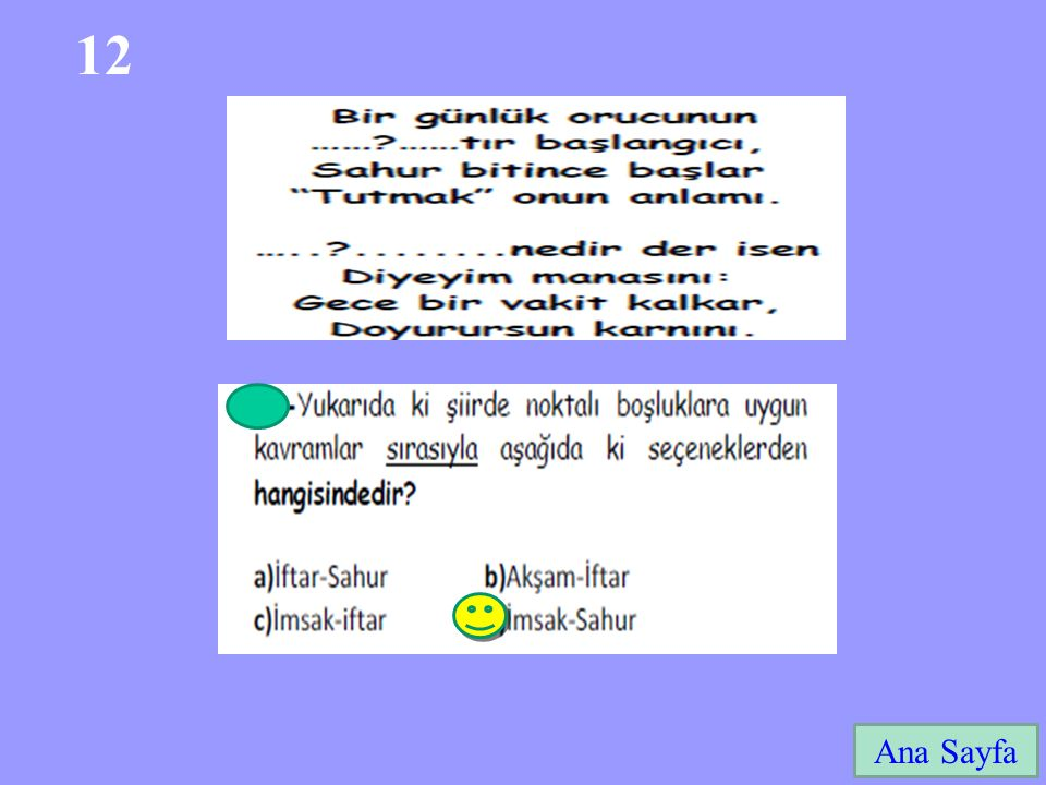 12 Ana Sayfa