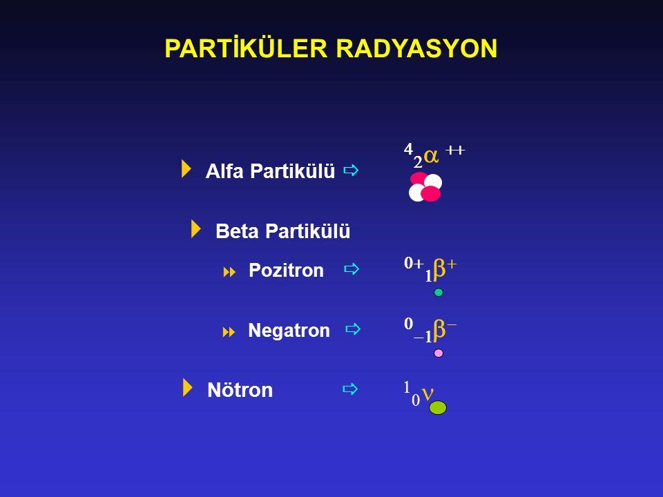 PARTİKÜLER RADYASYON  ++  10n Alfa Partikülü 