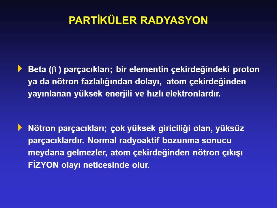 PARTİKÜLER RADYASYON