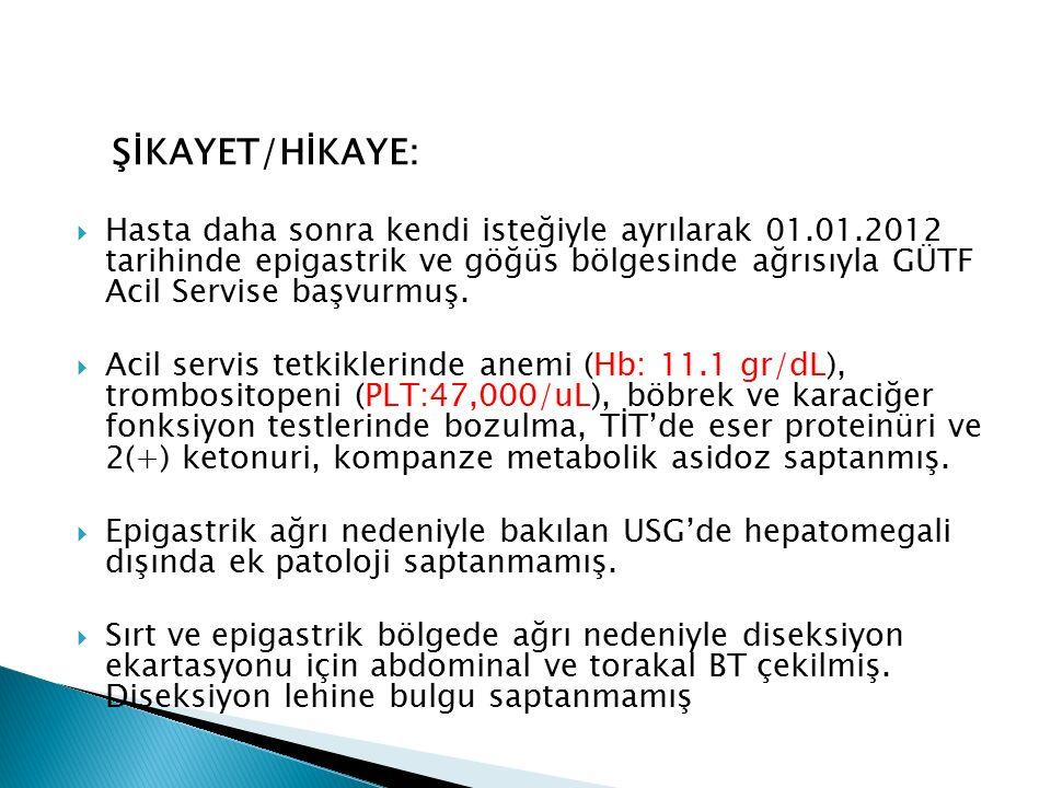 ŞİKAYET/HİKAYE: