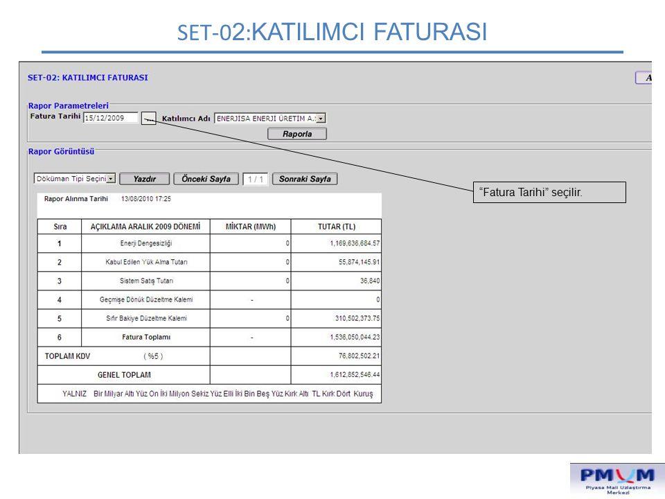 SET-02:KATILIMCI FATURASI
