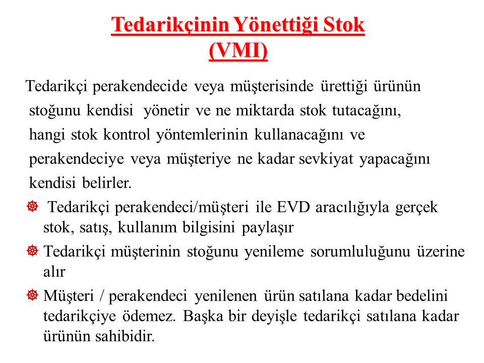 Tedarikçinin Yönettiği Stok (VMI)