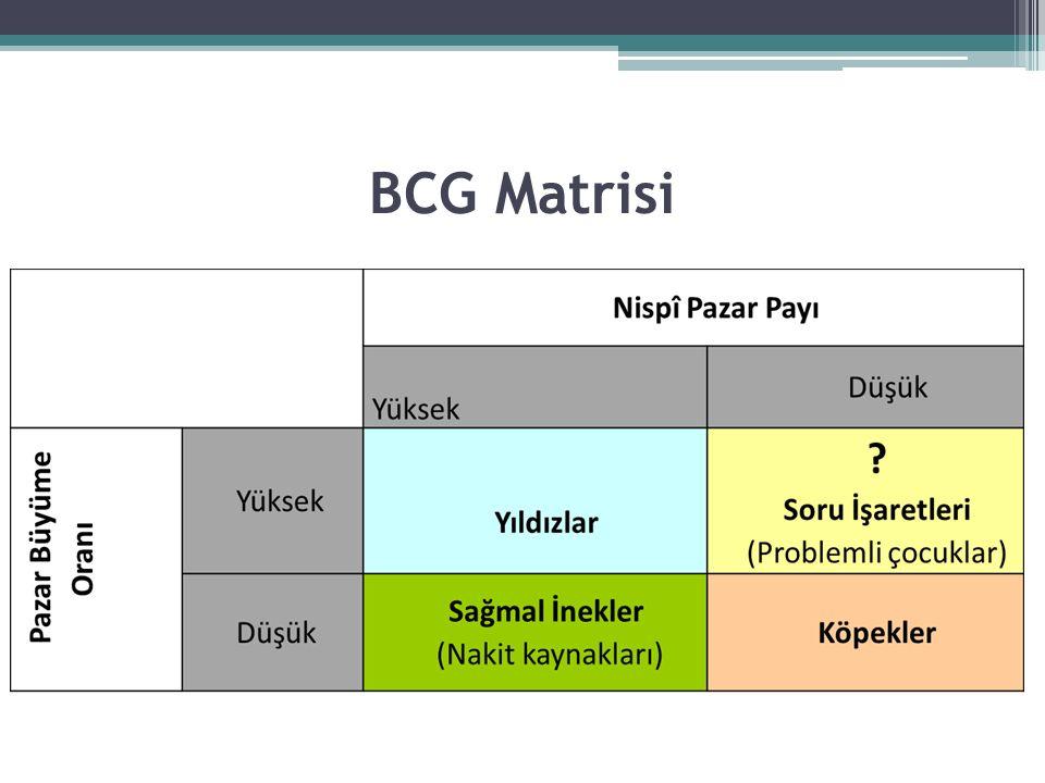 BCG Matrisi