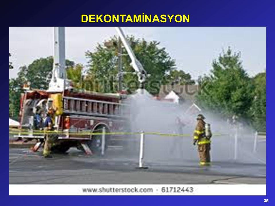 DEKONTAMİNASYON