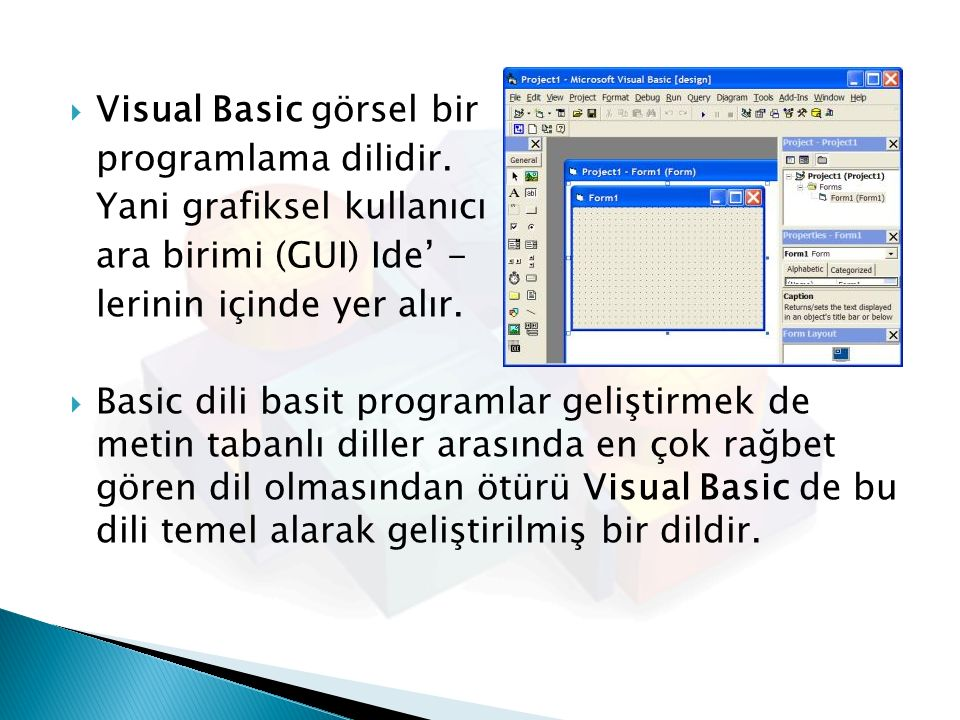 Visual Basic görsel bir