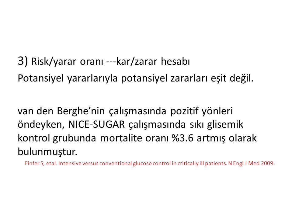 3) Risk/yarar oranı ---kar/zarar hesabı