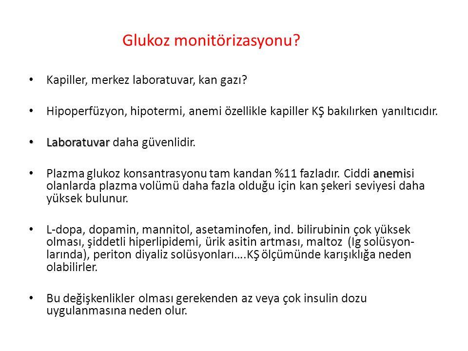 Glukoz monitörizasyonu