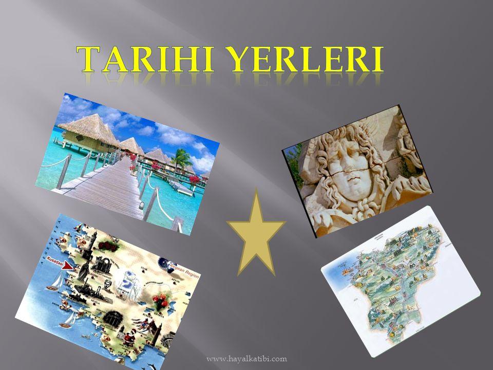 Tarihi yerleri www.hayalkatibi.com