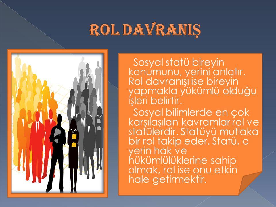ROL DAVRANIŞ