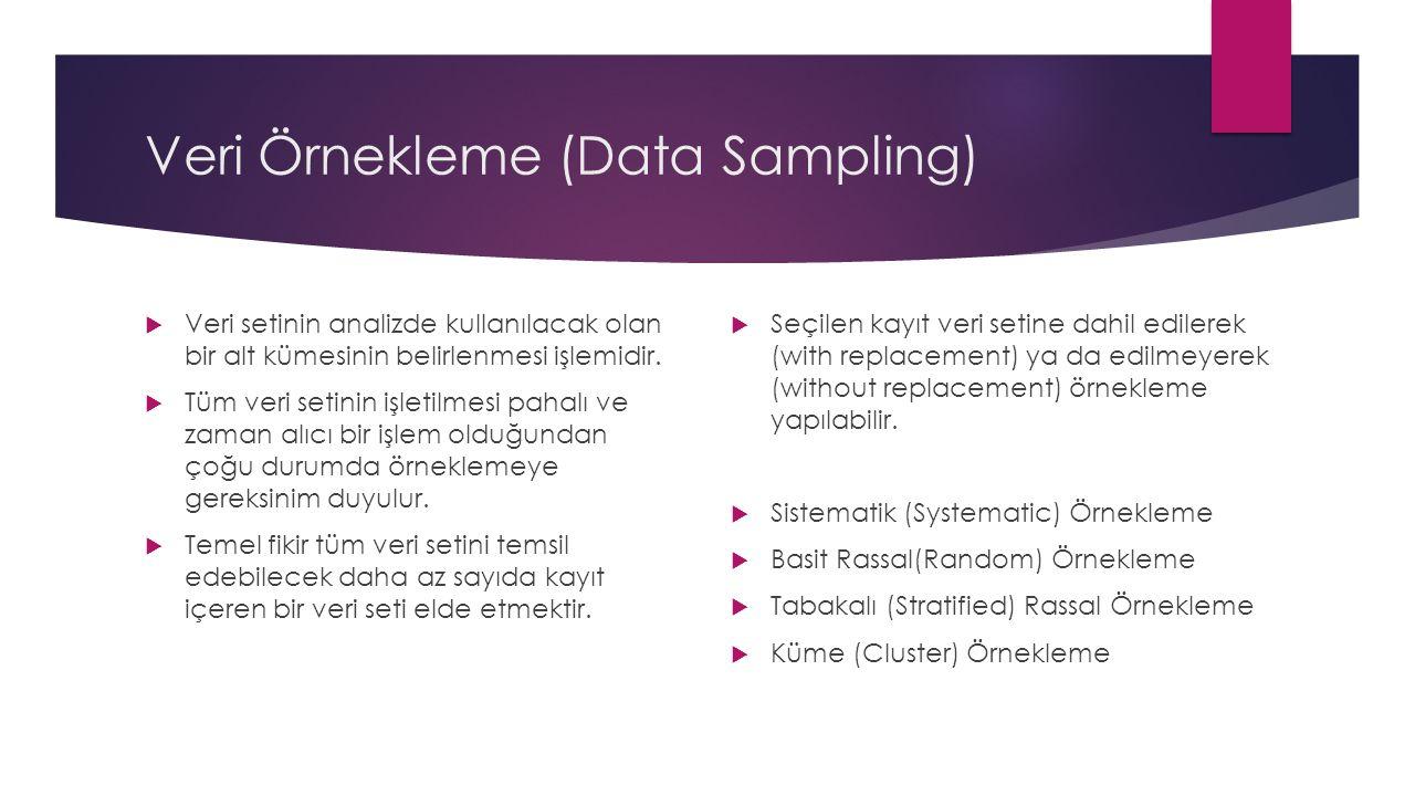 Veri Örnekleme (Data Sampling)