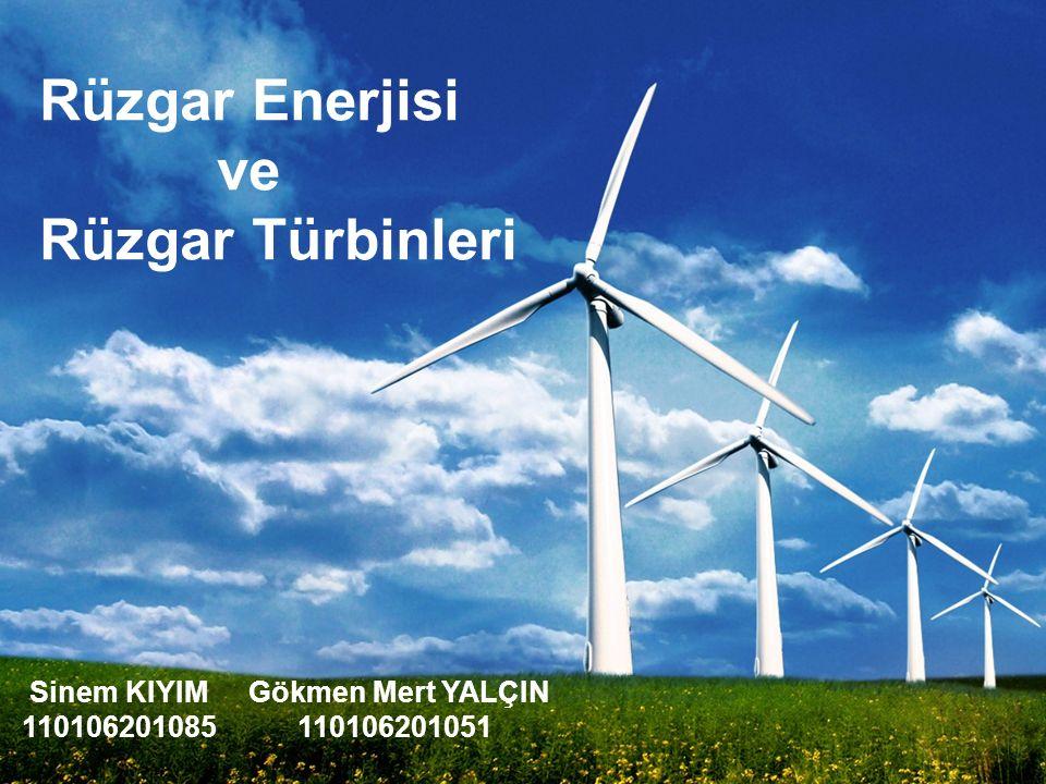 Rüzgar Enerjisi ve Rüzgar Türbinleri