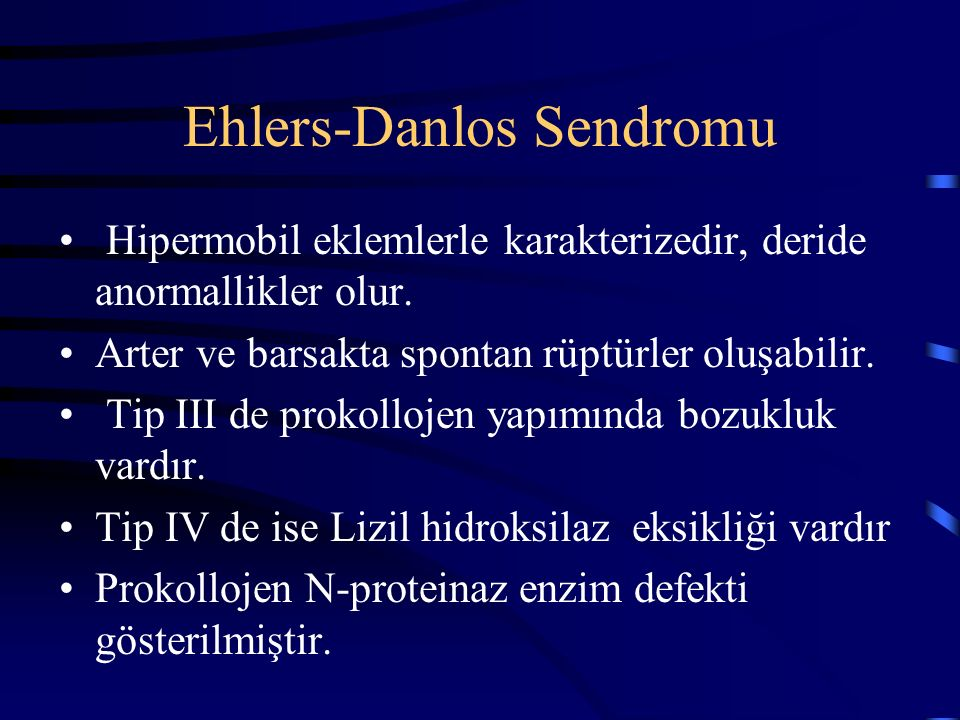 Ehlers-Danlos Sendromu