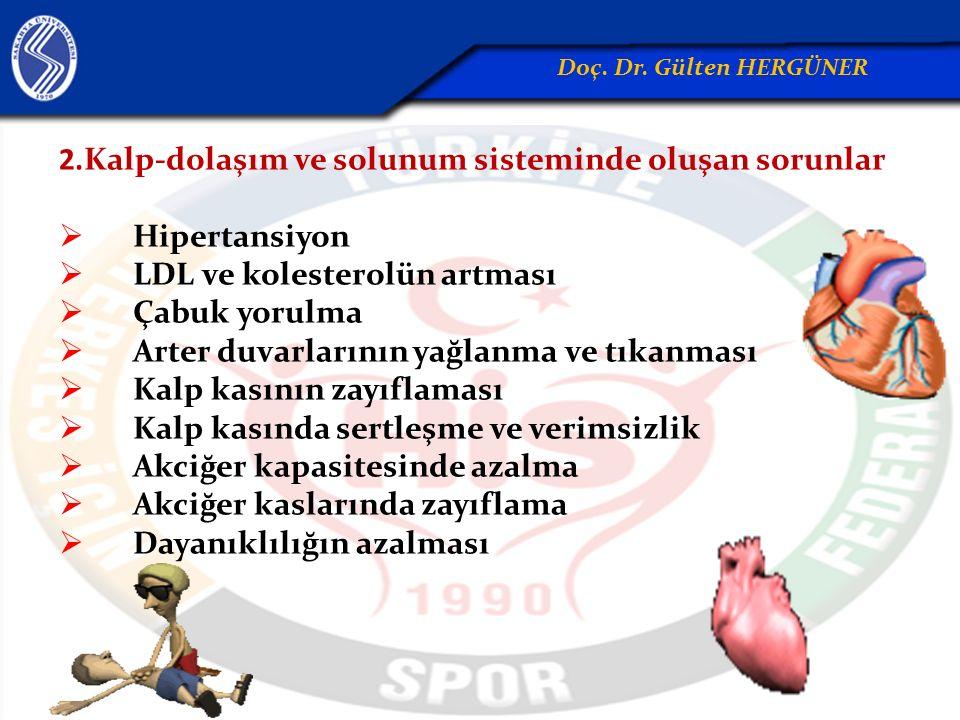 2.Kalp-dolaşım ve solunum sisteminde oluşan sorunlar Hipertansiyon