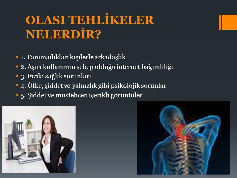 OLASI TEHLİKELER NELERDİR
