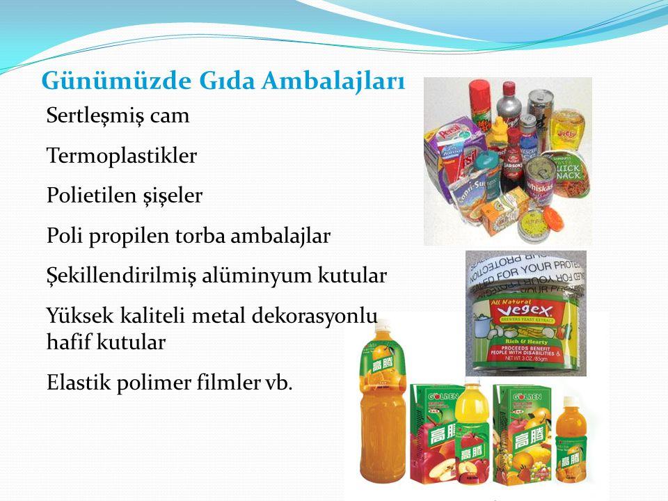 Günümüzde Gıda Ambalajları