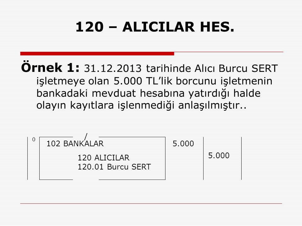 120 – ALICILAR HES.