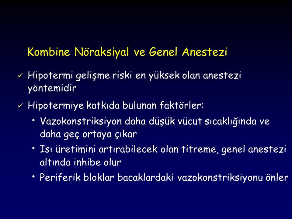 Kombine Nöraksiyal ve Genel Anestezi