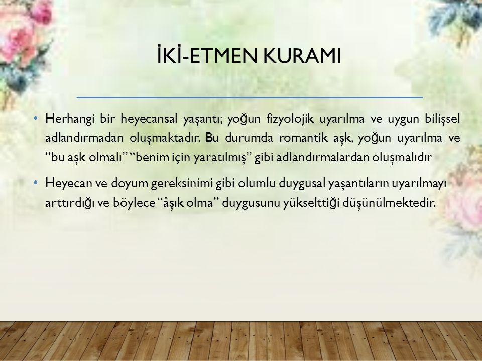 İKİ-ETMEN KURAMI