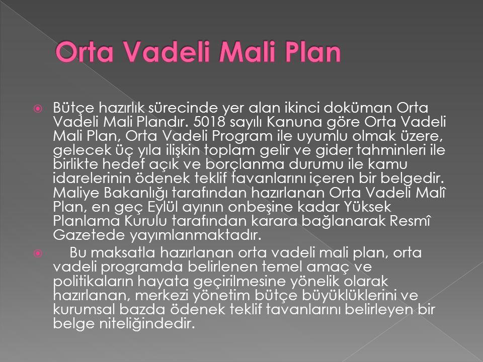 Orta Vadeli Mali Plan