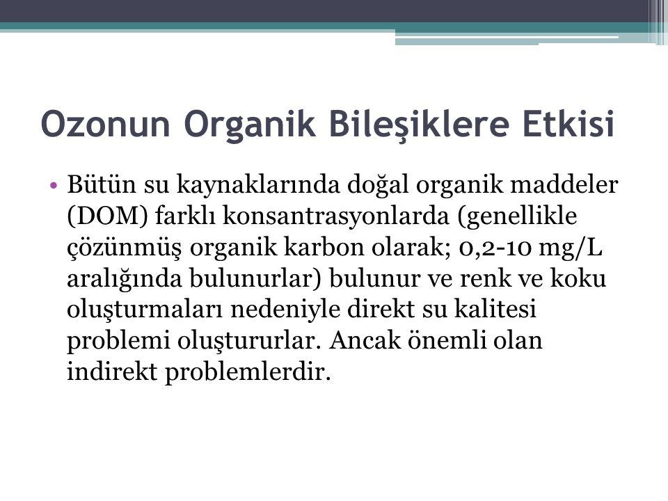 Ozonun Organik Bileşiklere Etkisi